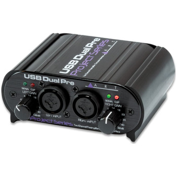 ART USB Dual Pre recording interface front