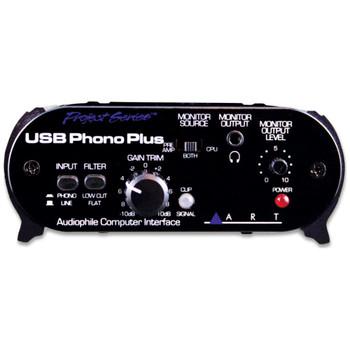 ART USBPHONOPLUSPS Phono USB interface front