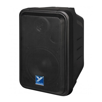 Yorkville C120B Coliseum Mini Series black Wall Mount Speaker 100 Watts front view