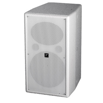 Yorkville C190W Coliseum Mini Series white 8 inch wall mount speaker front view