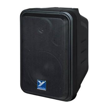 Yorkville C120P Coliseum Mini Series 100 watt powered speaker angled view