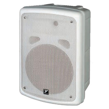 Yorkville C170W Coliseum Mini Series White100w, 8-inch/1-inch withintegrated 70V matching transformer