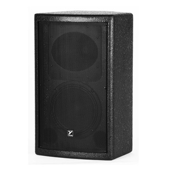 Yorkville C1891B Coliseum 150w black 1 x 8-inch / 1-inch front view