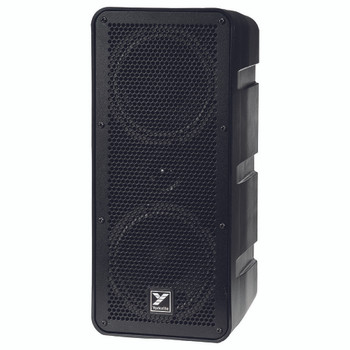 Yorkville EXM-mobile Excursion series battery powered speaker angled view