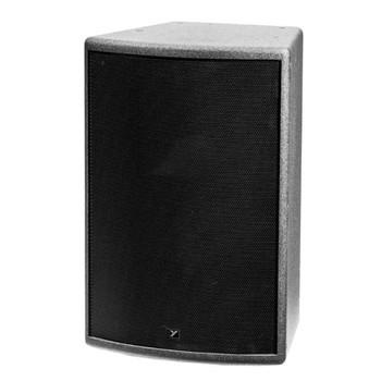 Yorkville C12B Coliseum Black 400 watt Passive Speaker front view