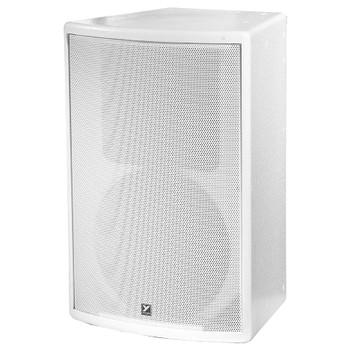 Yorkville C12W Coliseum White 400 watt Passive Speaker front view
