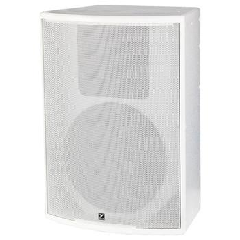 Yorkville C15W Coliseum White 500 watt Passive Speaker front view