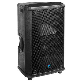 Yorkville nx55p-2 NX Series 1000 watt Powered Speaker angled view