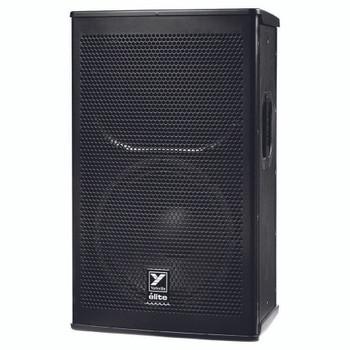"""Yorkville EF12P Elite 1,200 Watt Powered 12"""" Speaker angled view"""