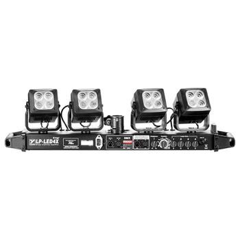 Yorkville LP-LED4X four head LED lighting system-front view