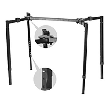 IKS-8 Deluxe four leg collapsible stand
