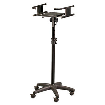 SKS-500B Adjustable Studio Monitor Stand with wheels