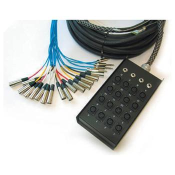 SN-164PB 16 Channel 100 Foot Snake - A lighter version od the SN-164
