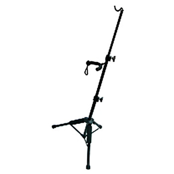 Violin stand with bow hanger - black - Tripod Style VS-61 overview