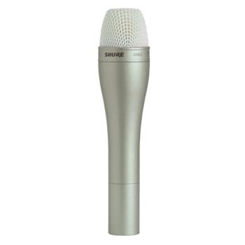 SHURE SM63 Omnidirectional Dynamic mic, Champagne, 14.5cm long. EMI Audio