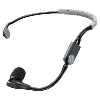 SHURE SM35-XLR Headset Cardioid Condenser Mic with Snap-fit Windscreen and Inline XLR Preamp. EMI Audio