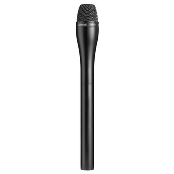 SHURE SM63LB Omnidirectional Dynamic, Black Finish with Extended Handle for Interviewing. EMI Audio