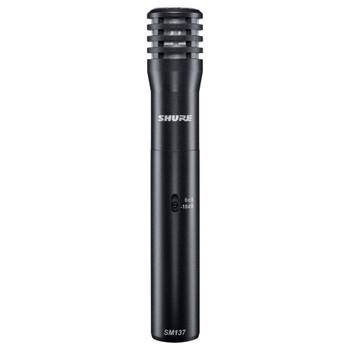 SHURE SM137-LC Cardioid Condenser Microphone. EMI Audio