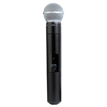 SHURE PGXD2/SM58 Handheld Wireless Microphone Transmitter. EMI Audio