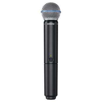 SHURE BLX2/B58 Handheld Wireless Microphone Transmitter. EMI Audio