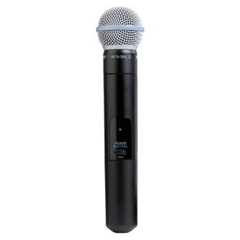 SHURE PGXD2/BETA58-X8 Handheld Transmitter with BETA58 Microphone. EMI Audio