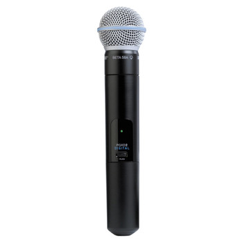 SHURE PGXD2/BETA58-X8 Handheld Transmitter with BETA58 Microphone. EMI Audio