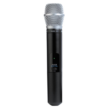 SHURE PGXD2/SM86-X8 Handheld Transmitter with SM86 Microphone. EMI Audio