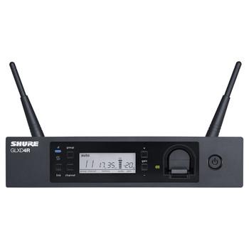 SHURE GLXD4R-Z2 GLXD4R WIRELESS RECEIVER front. EMI Audio