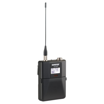 SHURE QLXD1-X50 Bodypack Transmitter. EMI Audio