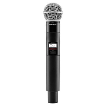 SHURE QLXD2/SM58 Handheld Transmitter with SM58® Microphone. EMI Audio
