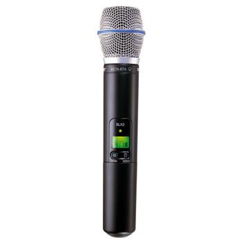 SHURE SLX2/BETA87A Handheld Transmitter with BETA87A Microphone. EMI Audio