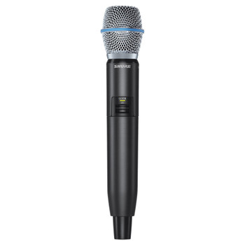 SHURE GLXD2/B87A-Z2 Handheld Transmitter with Beta 87A Microphone. EMI Audio