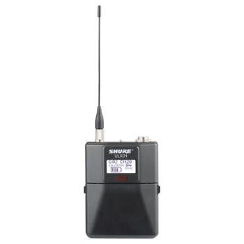 SHURE ULXD1 Digital Wireless Bodypack Transmitter with Miniature 4-Pin Connector. EMI Audio