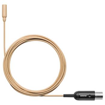 SHURE-TL48T/O-MTQG-A-tan-subminiature-Lav-Mic. EMI Audio