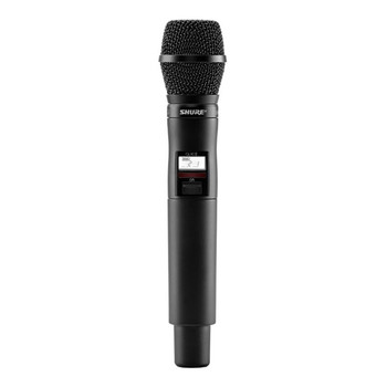 SHURE QLXD2/SM87 Handheld Transmitter with SM87 Microphone. EMI Audio