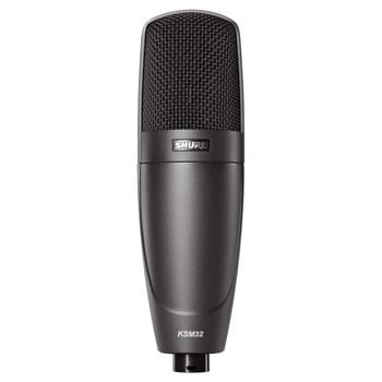 SHURE KSM32/CG Cardioid Studio Condenser Microphone–Stage Model (Charcoal Gray). EMI Audio