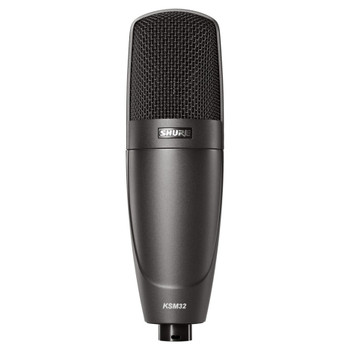 SHURE KSM32/CG Cardioid Studio Condenser Microphone–Stage Model (Charcoal Gray). EMI Audio