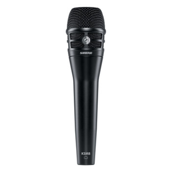 SHURE KSM8/B Dualdyne Dynamic Handheld Vocal Microphone, Black. EMI Audio