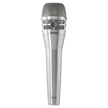 SHURE KSM8/N Dualdyne Dynamic Handheld Vocal Microphone, Nickel. EMI Audio