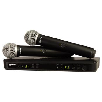 SHURE BLX288/PG58 BLX288 DUAL PG58 VOCAL SYSTEM - EMI Audio