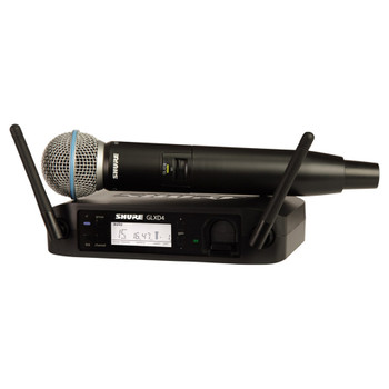 SHURE GLXD24/B58A Digital Wireless Vocal System with Beta 58A Vocal . EMI Audio