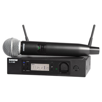 SHURE GLXD24R/SM58-Z2 GLXD24R VOCAL SYSTEM WITH SM58A. EMI Audio