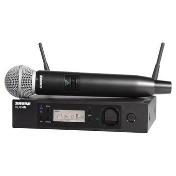 SHURE GLXD24R/SM58-Z2 GLXD24R VOCAL SYSTEM WITH SM58A. EMI Audio