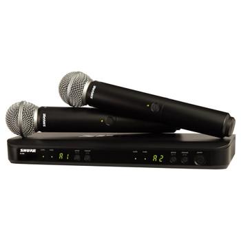 SHURE BLX288/SM58 BLX288 DUAL SM58 VOCAL SYSTEM - EMI Audio