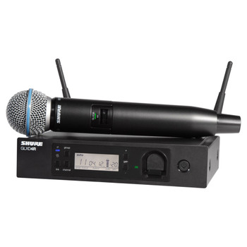 SHURE GLXD24R/B58 GLXD24R VOCAL SYSTEM WITH BETA58A. EMI Audio