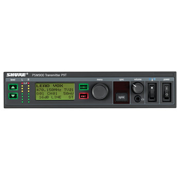 SHURE P9T=-G7 PSM ® 900 Transmitter - Front