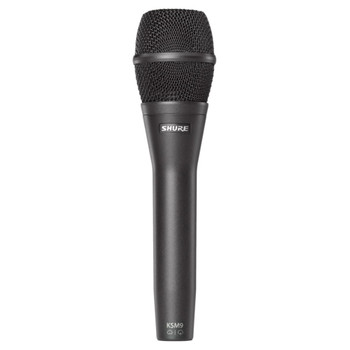 SHURE KSM9/CG Dual Pattern (Cardiod/Supercardiod) Condenser Handheld Vocal Microphone (Charcoal). EMI Audio