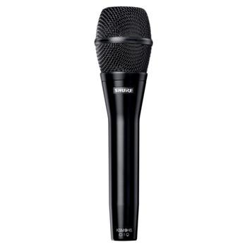 SHURE KSM9HS Dual Pattern (Hypercardioid/Subcardioid) Condenser Handheld Vocal Microphone (Black). EMI Audio