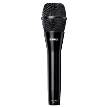 SHURE KSM9HS Dual Pattern (Hypercardioid/Subcardioid) Condenser Handheld Vocal Microphone (Black). EMI Audio