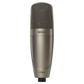 SHURE KSM42/SG Large Dual-Diaphragm, Side-Address Condenser Vocal Microphone. EMI Audio